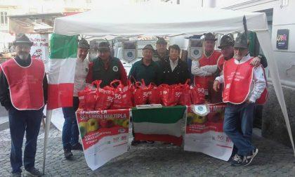 Alpini Cuorgnè per la ricerca, impegnati con i volontari AISM