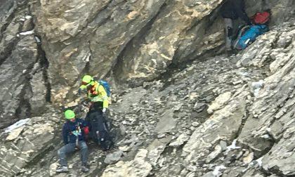 Soccorso alpino porta in salvo due escursionisti tedeschi