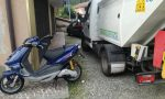 Incidente a Forno, ferito un 17enne in sella al suo scooter
