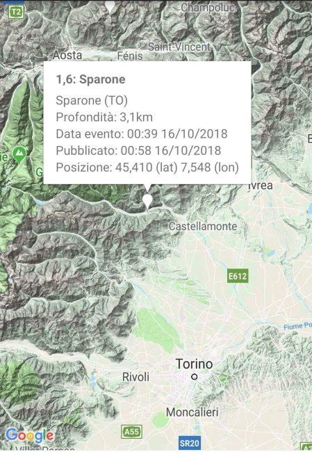 Terremoto a Sparone, la terra trema di nuovo in Canavese