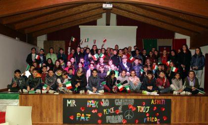 Balangero, gli alunni rendono omaggio al centenario della Grande Guerra