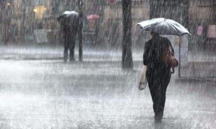 Allerta gialla per pioggia: temporali e vento dal pomeriggio di oggi