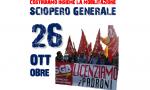 Sciopero generale 26 ottobre 2018 dei sindacati di base