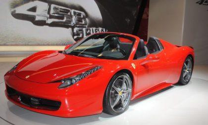 Ferrari richiama sei modelli: airbag pericoloso