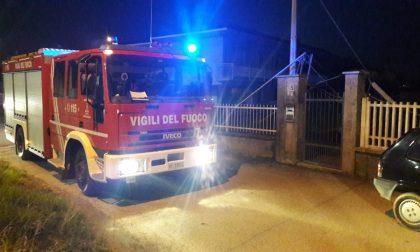 Pali pericolanti a Castellamonte sul posto i Vigili del fuoco