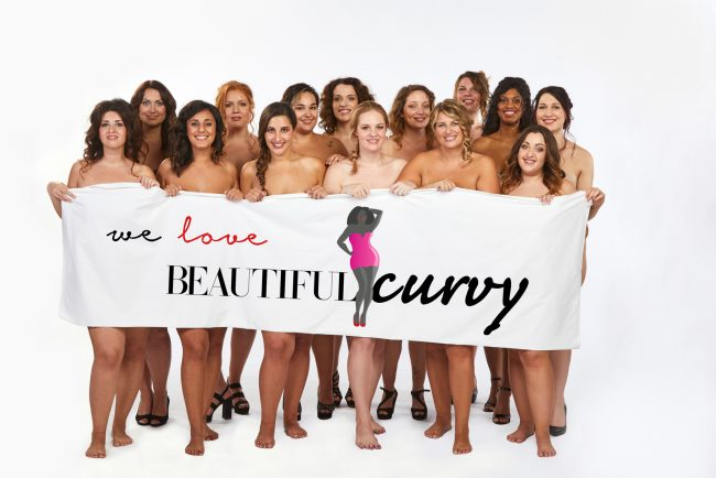 Calendario Curvy 2019: fra le sensuali 12 c'è una bellezza torinese | FOTO e VIDEO