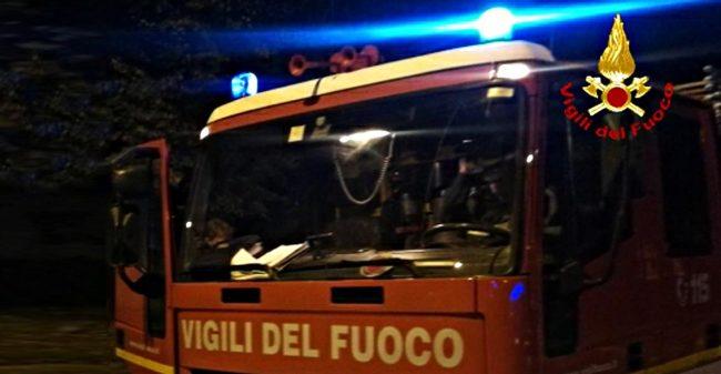 Incendio a Bellavista nel video le immagini delle fiamme