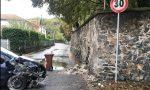 Auto contro muro a Ivrea, il muro diventa pericolante