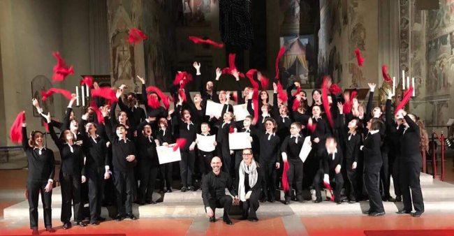 Coro Artemusica vince il 35° Concorso Polifonico Nazionale Guido d'Arezzo