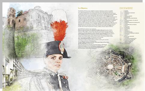 Calendario Carabinieri.Ivrea Nel Calendario Storico Dei Carabinieri 2019 Il Canavese
