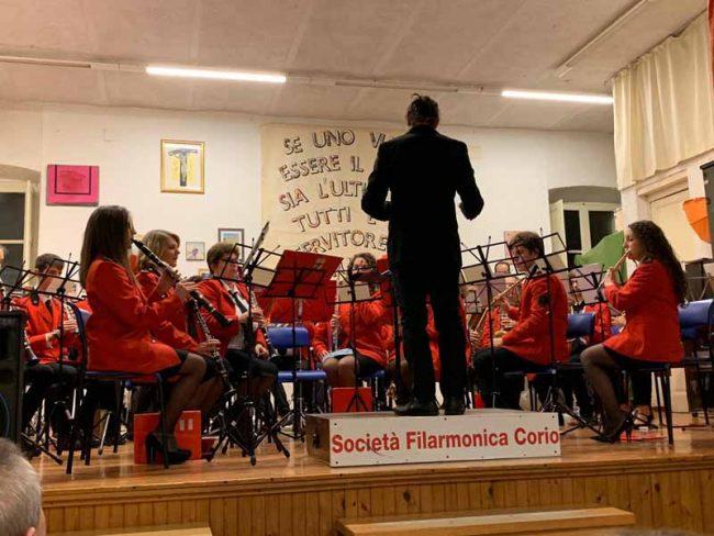"""Società Filarmonica di Corio, presentato il calendario """"Un anno in musica"""""""