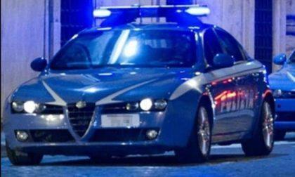 Ladri di Tv inseguiti dalla Polizia