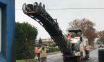 Lavori in corso a Mappano per il rifacimento delle strade