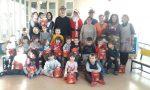 Gli Alpini di Valperga portano il Natale alla scuola Luttati