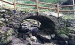 Antico ponte torna a risplendere a Frassinetto