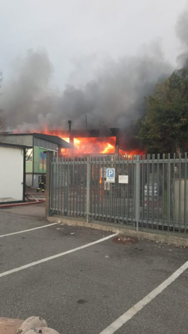 Incendio alla Reinol