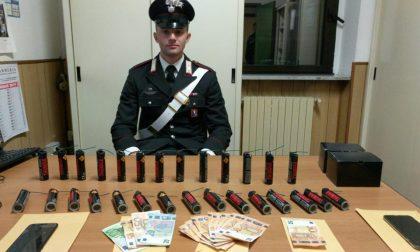 Sequestrato per debiti di droga, blitz dei carabinieri a Caselle
