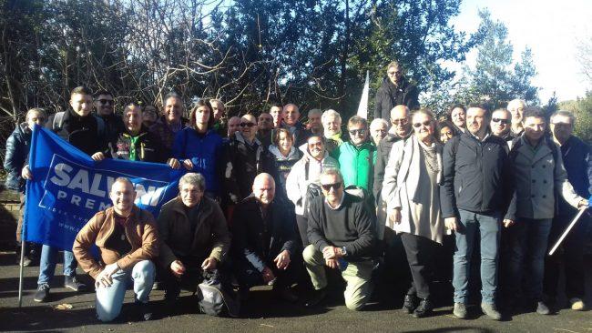 Manifestazione Lega a Roma, presenti anche i canavesani