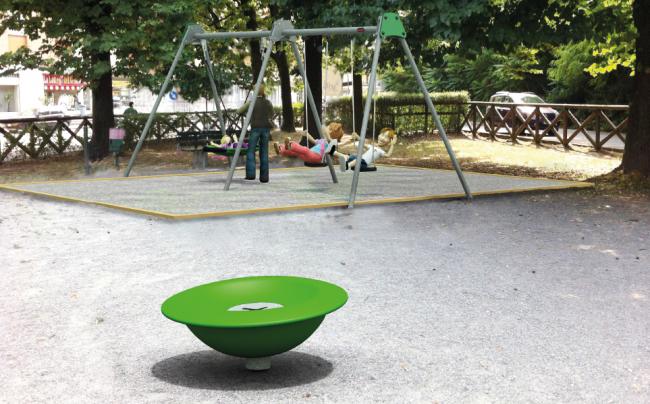 """Parco giochi Banchette, riqualificato il parco """"Unità d"""