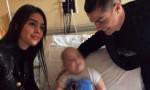 Cristiano Ronaldo al Regina Margherita, CR7 fa una sorpresa ai bambini malati