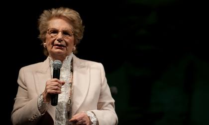 Club Turati: Liliana Segre scrive ai canavesani in partenza per Auschwitz