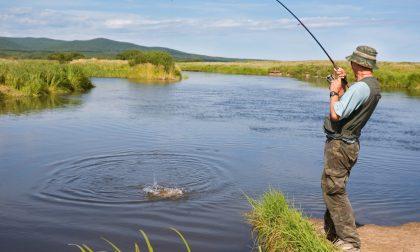 Di nuovo consentita la pesca sportiva dilettantistica