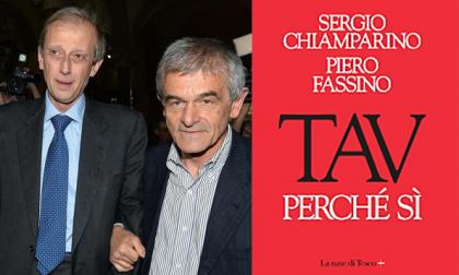 Libro Sì Tav scritto da Fassino e Chiamparino sull'analisi costi e benefici dell'opera