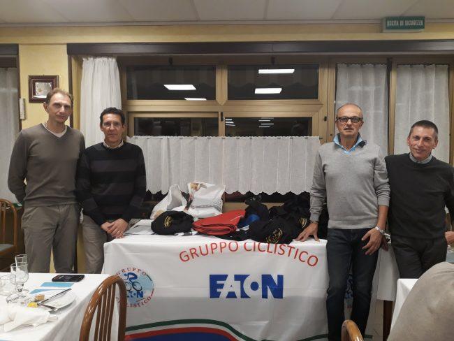 Gruppo Ciclistico Eaton tra sport e anche solidarietà