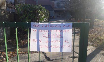 Caldaia in blocco e scuola Media Cena di Cuorgnè chiusa