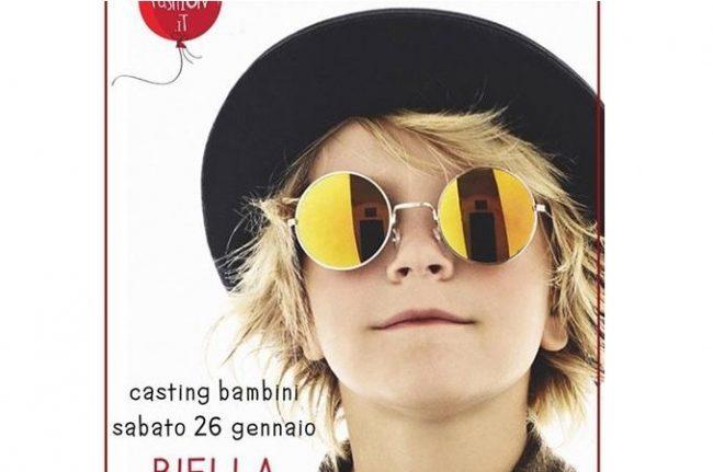 A Biella un casting per bambini da 0 a 18 anni
