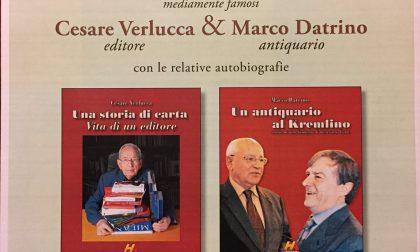 Cesare Verlucca e Marco Datrino presentano le loro autobiografie