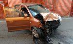 Scontro tra due auto a Valperga, due feriti lievi | FOTO e VIDEO