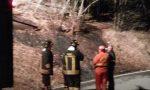 Balangero, fiamme nel bosco