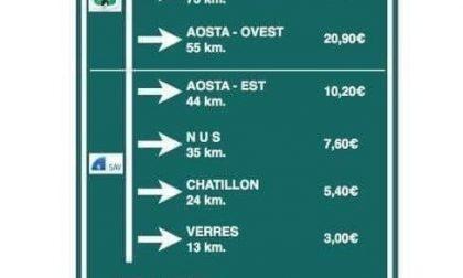 Pedaggi autostrade andare in Valle d'Aosta è sempre più caro