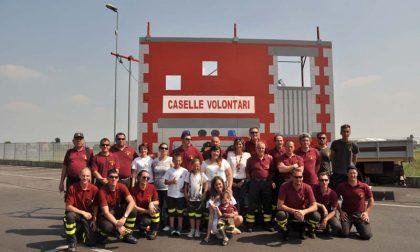 """Agricoltori dal """"cuore grande"""" a sostegno deiVigili del Fuoco Volontari di Caselle Torinese"""