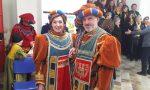 Cinzia e Mario sono i personaggi del Carnevale di Castellamonte