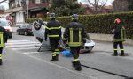 Auto si ribalta a San Maurizio: una persona ferita