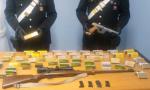 Due arresti a Mathi e Palazzo Canavese per detenzione illegale di armi | FOTO