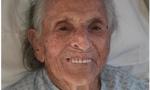 Compleanno da record, nonna Olga ha compiuto 107 anni