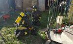 Incendio in alloggio a Germagnano: gatto salvato dai vigili del fuoco