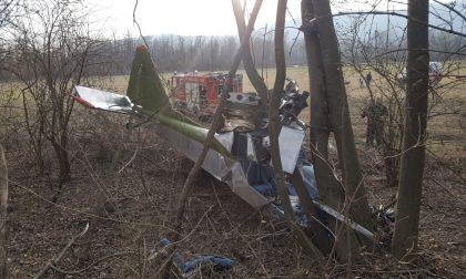 Montalto Dora: precipita aereo ultraleggero, due feriti
