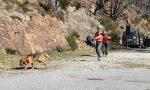 Unità cinofile per cercare due escursionisti dispersi