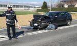 Tamponamento a Feletto, due auto coinvolte