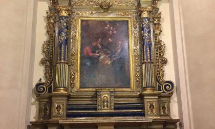 Restaurato l'altare ligneo di San Giuseppe nella chiesa parrocchiale di Nole