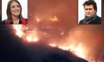 Avetta e Bonomo sull'incendio che ha distrutto l'area boschiva di Belmonte