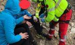 Arrampicatore si lussa una spalla a Bussoleno ma viene salvato