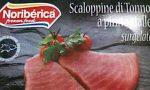 Istamina nelle scaloppine di tonno a pinne gialle: ritirate