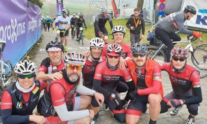 """Il team Sutalatur Bike di Salassa in terra fiamminga per il """"Ronde Van Vlaanderen"""""""