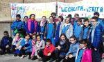 Giovani leinicesi in piazza per la Giornata della memoria e dell'impegno