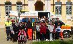 Protezione Civile e Croce Bianca alla Scuola elementare di Valperga